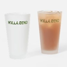 Holla Bend, Vintage Camo, Drinking Glass