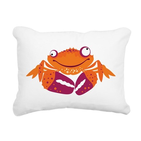 crab.png Rectangular Canvas Pillow