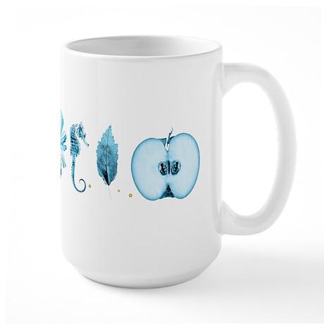 Fringe Glyphs Large Mug