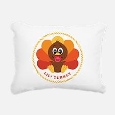 baby_turkey.png Rectangular Canvas Pillow