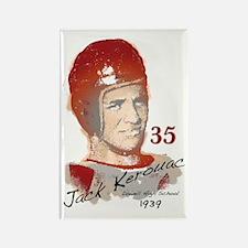 Jack Kerouac Rectangle Magnet