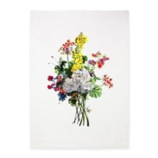 Jean Louis Prevost Bouquet 5'x7'Area Rug