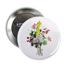 """Jean Louis Prevost Bouquet 2.25"""" Button"""