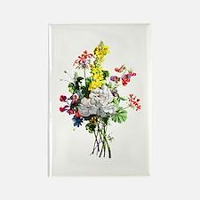 Jean Louis Prevost Bouquet Rectangle Magnet