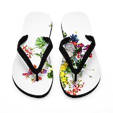Jean Louis Prevost Bouquet Flip Flops