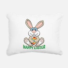 happyeaster_bunny.png Rectangular Canvas Pillow