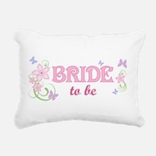 Bride To Be [f/b] Rectangular Canvas Pillow