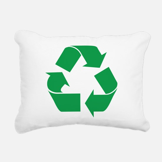recycle_g.png Rectangular Canvas Pillow