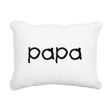 papa_b.png Rectangular Canvas Pillow