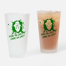 Unique Alabama leprechaun Drinking Glass