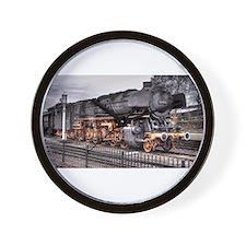 Vintage Locomotive Steam Train Wall Clock