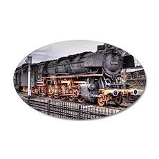 Vintage Locomotive Steam Train Wall Decal
