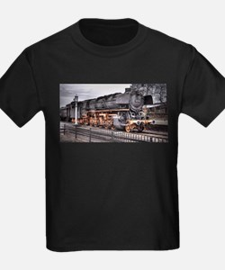 Vintage Locomotive Steam Train T