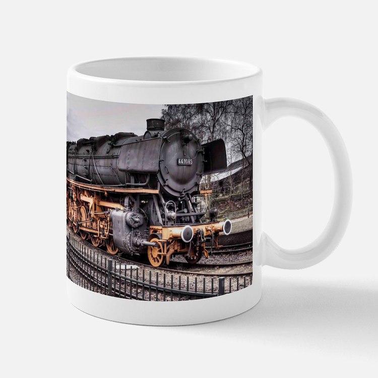 Vintage Locomotive Steam Train Mug