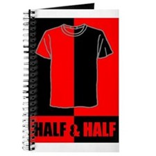 Half & Half RED Journal