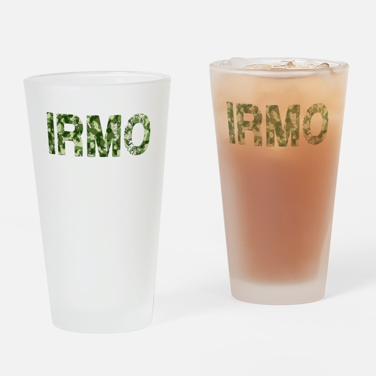 Irmo, Vintage Camo, Drinking Glass
