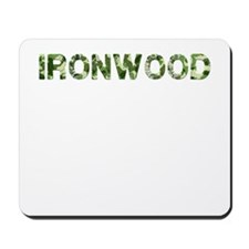 Ironwood, Vintage Camo, Mousepad