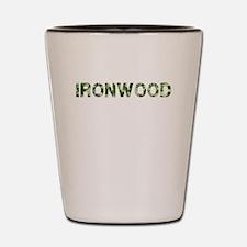 Ironwood, Vintage Camo, Shot Glass