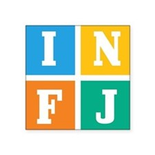 Myers-Briggs INFJ Sticker