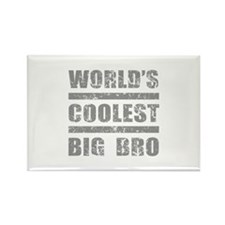 World's Coolest Big Bro Rectangle Magnet