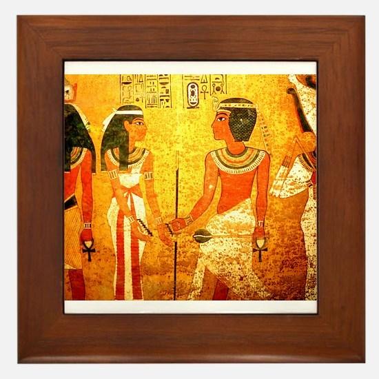Cool Egyptian Art Framed Tile