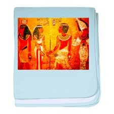 Cool Egyptian Art baby blanket