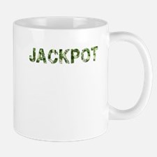 Jackpot, Vintage Camo, Mug