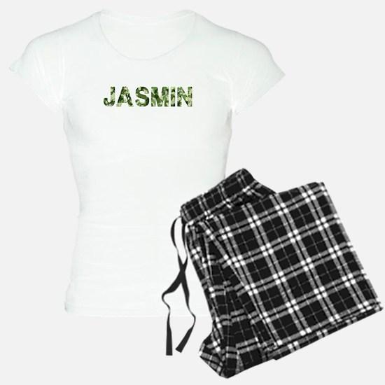 Jasmin, Vintage Camo, Pajamas