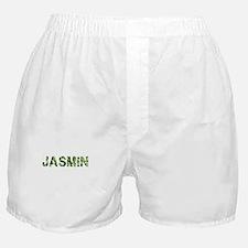 Jasmin, Vintage Camo, Boxer Shorts