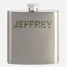 Jeffrey, Vintage Camo, Flask