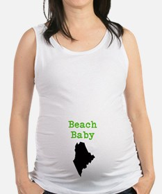 Cute Kennebunkport maine Maternity Tank Top
