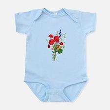 Jean Louis Prevost Bouquet Infant Bodysuit