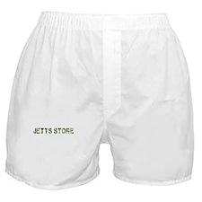 Jetts Store, Vintage Camo, Boxer Shorts