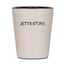 Jetts Store, Vintage Camo, Shot Glass