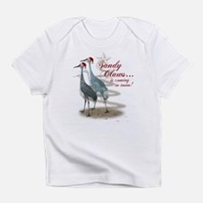 Sandy Claws is coming to town! Infant T-Shirt
