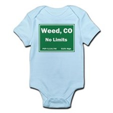 Welcom To Weed, Colorado! Infant Bodysuit