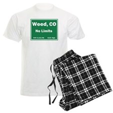 Welcom To Weed, Colorado! Pajamas