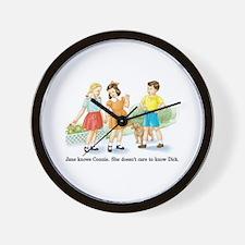 Cute Lgbt Wall Clock