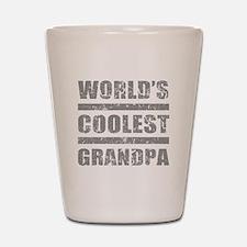 World's Coolest Grandpa Shot Glass
