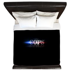 New COPS Logo King Duvet