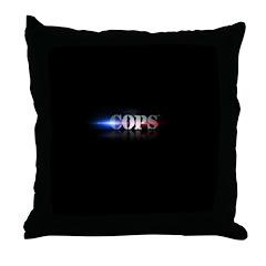 New COPS Logo Throw Pillow
