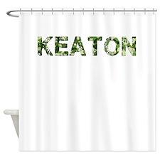 Keaton, Vintage Camo, Shower Curtain