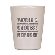 World's Coolest Nephew Shot Glass