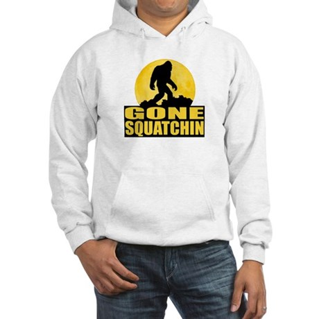 Gone Squatchin - Bark at the Moon Hooded Sweatshir