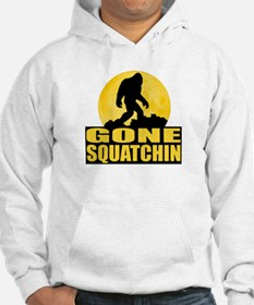 Gone Squatchin - Bark at the Moon Hoodie