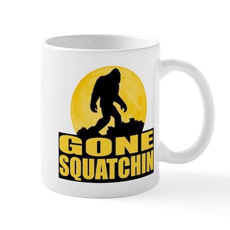 Gone Squatchin - Bark at the Moon Mug
