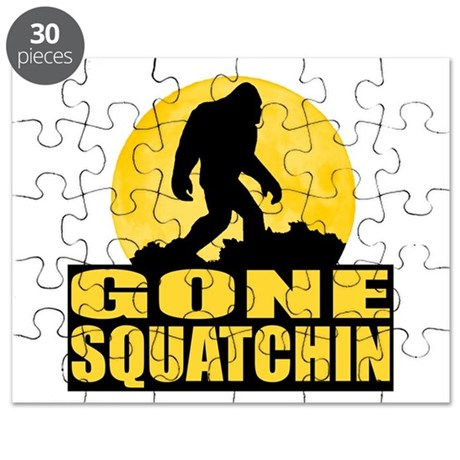 Gone Squatchin - Bark at the Moon Puzzle