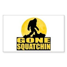 Gone Squatchin - Bark at the Moon Decal