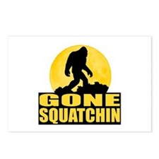 Gone Squatchin - Bark at the Moon Postcards (Packa