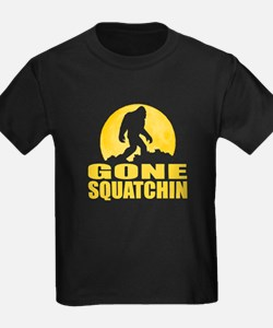 Gone Squatchin - Bark at the Moon T